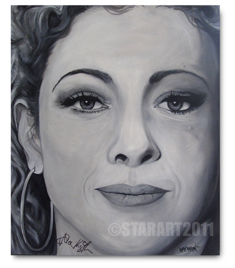 Alex Kingston par StarArt